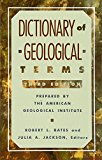 Book Cover Dictionary of Geological Terms: Third Edition (Rocks, Minerals and Gemstones)