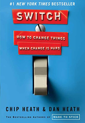 Book Cover Switch: How to Change Things When Change Is Hard