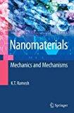 Book Cover Nanomaterials: Mechanics and Mechanisms