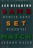 Book Cover Game, Set & Match (Berlin Game, Mexico Set, London Match)