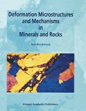 Book Cover Deformation Microstructures and Mechanisms in Minerals and Rocks