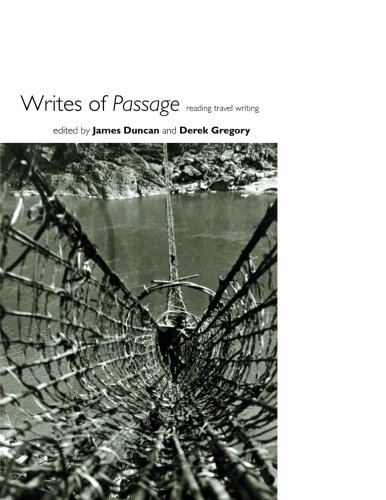 Book Cover Writes of Passage: Reading Travel Writing