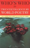 Book Cover Who's Who in Twentieth Century World Poetry