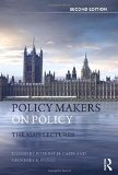 Book Cover Policy Makers on Policy: The Mais Lectures (Routledge International Studies in Money and Banking)