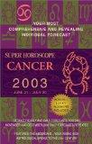 Book Cover Super Horoscopes 2003: Cancer