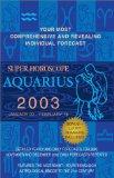 Book Cover Super Horoscopes 2003: Aquarius