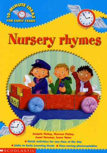 Book Cover Nursery Rhymes (10-Minute Ideas for the Early Years)