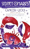 Book Cover Sydney Omarr's Day-by-Day Astrological Guide for the Year 2013: Cancer (Sydney Omarr's Day-By-Day Astrological: Cancer)