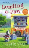 Book Cover Lending a Paw: A Bookmobile Cat Mystery