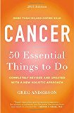 Book Cover Cancer: 50 Essential Things to Do: 2013 Edition