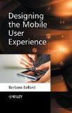 Book Cover Designing the Mobile User Experience