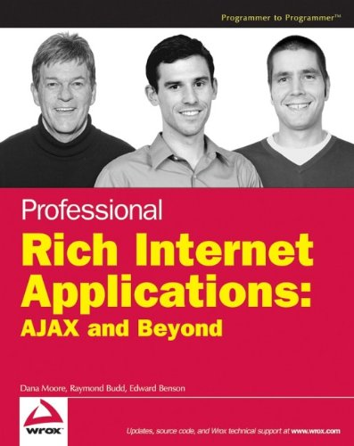 Book Cover Professional Rich Internet Applications: AJAX and Beyond