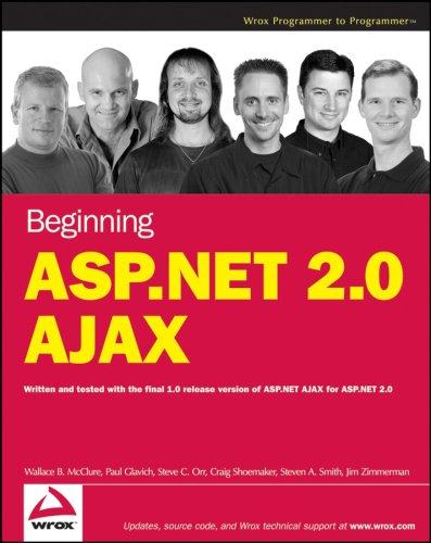 Book Cover Beginning ASP.NET 2.0 AJAX (Programmer to Programmer)