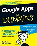 Book Cover Google Apps For Dummies