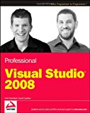 Book Cover Professional Visual Studio 2008