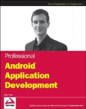 Book Cover Professional Android Application Development (Wrox Programmer to Programmer)