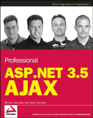 Book Cover Professional ASP.NET 3.5 AJAX