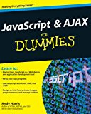 Book Cover JavaScript and AJAX For Dummies
