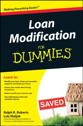 Book Cover Loan Modification For Dummies