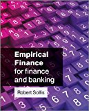 Book Cover Empirical Finance for Finance and Banking