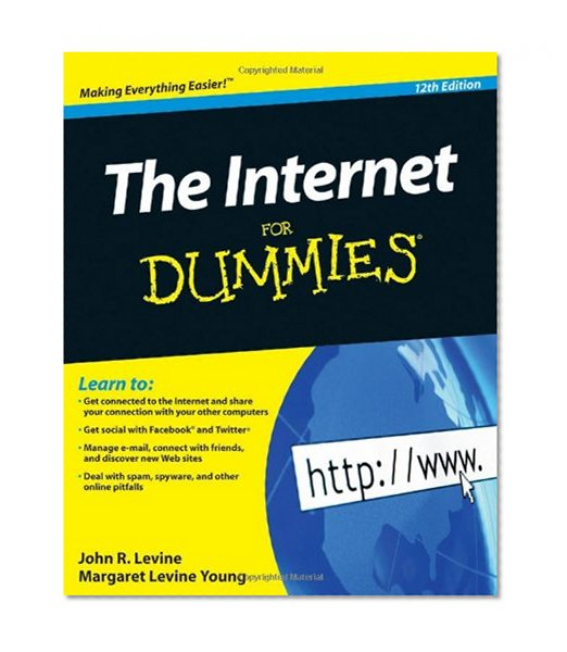 Book Cover The Internet For Dummies