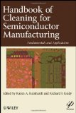 Book Cover Handbook for Cleaning for Semiconductor Manufacturing: Fundamentals and Applications