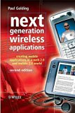 Book Cover Next Generation Wireless Applications: Creating Mobile Applications in a Web 2.0 and Mobile 2.0 World