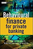 Book Cover Behavioural Finance for Private Banking