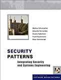 Book Cover Security Patterns: Integrating Security and Systems Engineering
