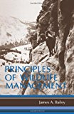 Book Cover Principles of Wildlife Management
