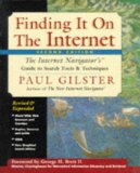 Book Cover Finding It On the Internet: The Internet Navigator's Guide to Search Tools and Techniques