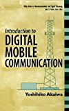 Book Cover Introduction to Digital Mobile Communication (Wiley Series in Telecommunications and Signal Processing)
