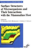 Book Cover Surface Structures of Microorganisms and Their Interactions with the Mammalian Host