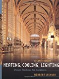 Book Cover Heating, Cooling, Lighting: Design Methods for Architects