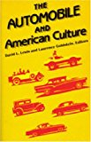 Book Cover The Automobile and American Culture