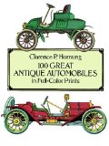 Book Cover 100 Great Antique Automobiles in Full-Color Prints (Dover Fine Art, History of Art)