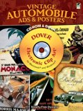 Book Cover Vintage Automobile Ads and Posters CD-ROM and Book (Dover Electronic Clip Art)