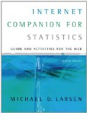 Book Cover Internet Companion for Statistics (with InfoTrac 2-Semester Printed Access Card)