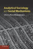 Book Cover Analytical Sociology and Social Mechanisms