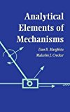 Book Cover Analytical Elements of Mechanisms
