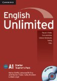 Book Cover English Unlimited Starter Teacher's Pack (Teacher's Book with DVD-ROM)