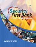 Book Cover Security First Bank: A Banking Customer Simulation (Financial Literacy Promotion Project)