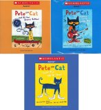 Book Cover Pete the Cat Audio CD Pack : Includes 3 Audio CDs : Pete the Cat and His Four Groovy Buttons CD / Pete the Cat: I Love My White Shoes CD / Pete the Cat: Rocking in My School Shoes CD (Pete the Cat Audio CDs)
