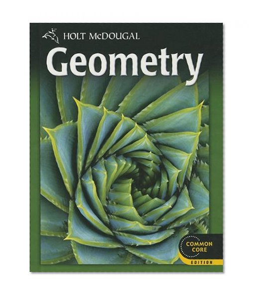 Book Cover Holt McDougal Geometry: Student Edition 2012