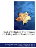 Book Cover Digest of the Banking, Trust Company, and Building and Loan Association Laws