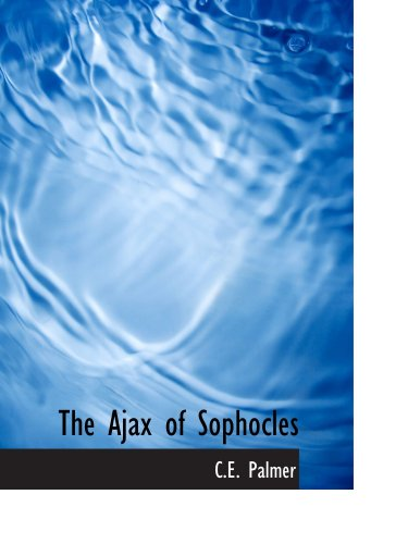 Book Cover The Ajax of Sophocles