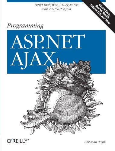 Book Cover Programming ASP.NET AJAX: Build rich, Web 2.0-style UI with ASP.NET AJAX