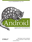Book Cover Android Application Development: Programming with the Google SDK