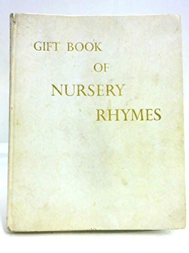 Book Cover Gift Book of Nursery Rhymes