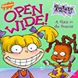 Book Cover Open Wide!: A Visit to the Dentist (Rugrats (Simon & Schuster Library))